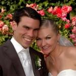 Ruth Evans Fotos aus Hochzeit Blumen