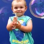 Ruth Evans Fotos aus Seifenblasen-Aktion 2