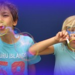 Ruth Evans Fotos aus Seifenblasen-Aktion 7